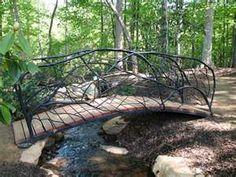 Creek Bridge...We desperately need to build one of these!