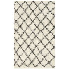 Safavieh Dallas Jerrie Power Loomed Area Rug, White