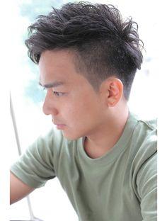 サイドパートワイルドツーブロック無造作ショート:L016288399|アクティフ(actif)のヘアカタログ|ホットペッパービューティー Baby Boy Haircuts, Haircuts For Men, Asian Hair Inspo, Permed Hairstyles, Men's Hairstyle, Barber Shop Haircuts, Natural Curls, Men's Grooming, Hair Beauty