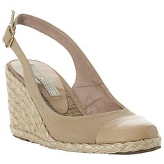 5c8bb2cf854 Buy Pied A Terre Chay Slingback Espadrille Wedge Sandals Online at  johnlewis.com Ankle Strap