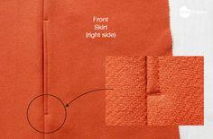 Waffle Patterns sewing patterns Free seam pocket pattern and photo tutorial