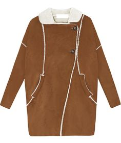 Shop Khaki Lapel Long Sleeve Pockets Fur Coat online. Sheinside offers Khaki Lapel Long Sleeve Pockets Fur Coat & more to fit your fashionable needs. Free Shipping Worldwide!