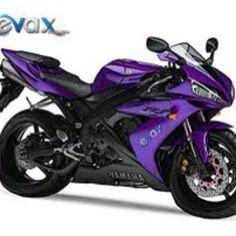 Purple motorcycle