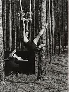 Mikhail Baryshnikov. Photo by Annie Leibovitz. White Oak plantation, Florida, 1990