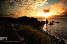 Sunrise in Jeju - Pinned by Mak Khalaf Landscapes 구름바다섭지코지일출잡초제주해 by kimmd35141