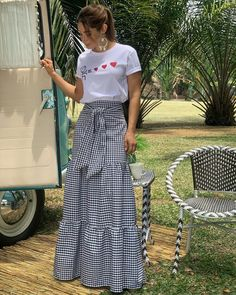 Beautiful Outfits, Cool Outfits, Summer Outfits, Casual Outfits, Choli Dress, Dress Skirt, Modest Fashion, Fashion Dresses, Fashion Styles
