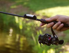 fishing rod - Those who want to take a more formalized approach to their fishing trips will find the 'ANGLR' Tracker to be a great fishing rod attach...