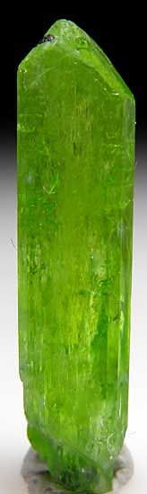 Diopside from 800 foot level, Karo Mine (extension off Block D), Merelani Hills, Arusha, Tanzania (Marin Mineral Company) Crystals Minerals, Rocks And Minerals, Block D, Arusha, Tanzania, Fossils, Shades Of Green, Gemstones, Beautiful