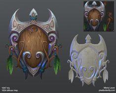 ArtStation - World of Warcraft weapon remixes, Marie Lazar