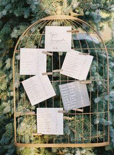 Ideias originais e super divertidas de como distribuir seus convidados nas mesas do casamento Image: 3