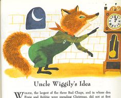 uncle wiggily- art seiden  Uncle Wiggily by Howard Garis, illustrations by Art Seiden. Published by Grosset and Dunlap 1965.