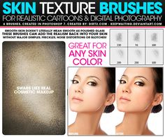 skin-texture-photoshop-brushes 22 Free Useful Photoshop Brushes Brush Font, Photo Retouching, Photoshop Brushes, Your Paintings, Templates Free, Free Design, Painting Tutorials, Design Elements, Skin Makeup