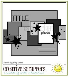 SCRAP ADDICT: Creative Scrappers Sunshine Crop On NOW!