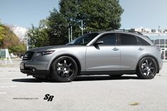 This is definitely not your ordinary run of the mill Infiniti Extraordinary would be the perfect word to describe this very unique vehicle. Highest Price Car, Cadillac Cts Coupe, Infiniti Fx35, Car Goals, Luxury Suv, Sexy Cars, My Ride, Van Life, Custom Cars