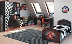 F1 carbon Student Room, Toddler Bed, Kids Rugs, Children, Furniture, F1, Home Decor, Rooms, Sign