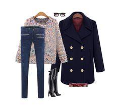 Womens-Wool-Blend-Peacoat-Double-Breasted-Button-Lapel-Blazer-Coat-Jacket
