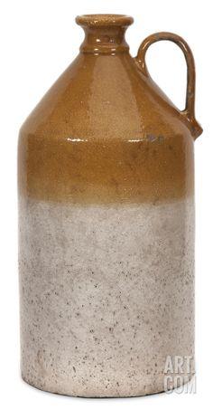 Clovis Terracotta Jug Vase - Large Home Accessories at Art.com