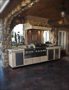 ✿ڿڰۣ(̆̃̃❤Aussiegirl #My #Virtual #Home  Would love this outdoor kitchen