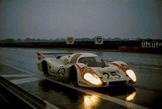 "luimartins:  ""Vic Elford/Kurt Ahrens Porsche 917 LH Le Mans 1970  """
