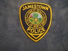 E926  Obsolete Police Patch Jamestown North Dakota