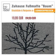 """Fußmatte """"Baum"""" von Räder Design +++ aus Kokosbast mit Motivprint zum SONDERPREIS +++ http://www.hals-ueber-krusekopf.de/xist4c/web/raeder-design-zuhause-fussmatte-baum_id_13902__dId_486929_.htm"""