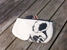 Pencil Case Grammophone Zipper Pouch by poisonpear on Etsy, $20.00