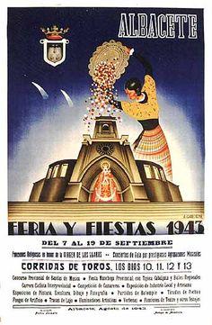 Cartel Feria Albacete 1943