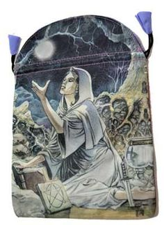 Drawing Down The Moon Tarot Bag By Lo Scarabeo 6 X 9