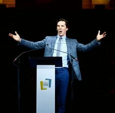 Benedict at Letters Live - 12th March 2016