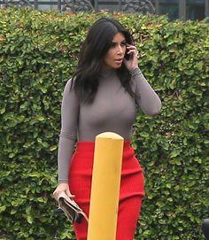 Kim Kardashian Photos: The Kardashians Head to the Office