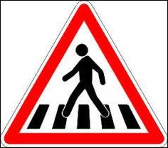 An overview of the warning signs of France. Learn all traffic signs with the free practice questions. Door Decoration For Preschool, School Decorations, All Traffic Signs, Passage Piéton, Nouveau Logo, Teacher Cards, Warning Signs, Street Signs, Photo Backgrounds