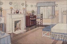 1914 Girl's Bedroom   Flickr - Photo Sharing!