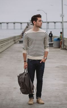 Man in stripes *swoon*