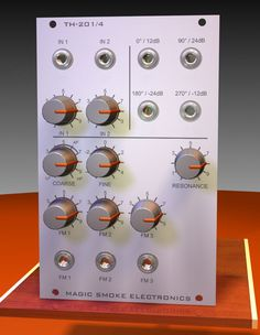 "TH-201 ""Mankato"" Voltage-Controlled Filter / Oscillator / Slew Limiter"
