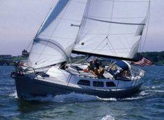 Freedom 32 sailboat.