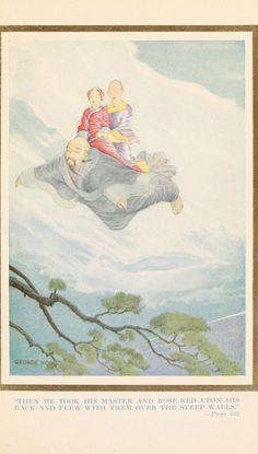 The Chinese Fairy Book. ed. by Dr. R. Wilhelm, translated after original sources by Frederick H. Martens, with six illustrations in color by George W. Hood; 1921; Frederick A. Stokes company, New York.