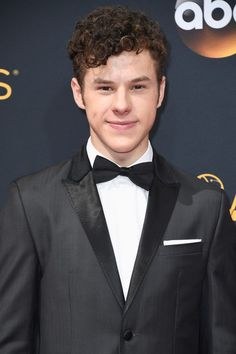 Actor Nolan Gould attends the 68th Annual Primetime Emmy Awards.