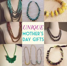 There's still time to order this unique jewelry for Mother's Day! Each piece of jewelry is made from 100% recycled paper and the proceeds goes toward the amazing moms who made them by hand! Shop at: http://biggerthanbeads.storenvy.com/