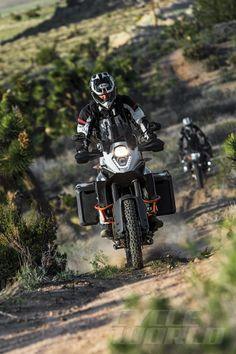Cycle World - BMW R1200GS Adventure vs. KTM 1190 Adventure R - Comparison Test
