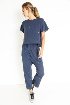 THE LOUNGE CROP Jumpsuit, Lounge, Shirt Dress, Shirts, Collection, Dresses, Fashion, Overalls, Airport Lounge