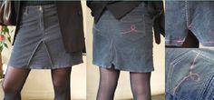 Tuto transformer pantalon en jupe