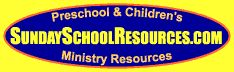 The goal of SundaySchoolResources.com is to help teachers serving in a Christian Preschool Ministry or a Children's Ministry or a Sunday School class teach children what the Bible says about God and the way He wants us to live.