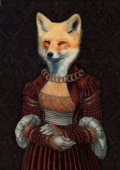 Lady Red Fox di Agade