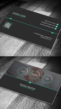 25 Inspiring Examples Of Creative Business Cards Design Minimal Business Card, Modern Business Cards, Corporate Business, Real Estate Business Cards, Free Business Cards, Corporate Design, Business Card Design, Stationery Design, Branding Design