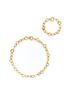 Modular gold necklace from Tiffany & Co.    at Gilt - $4800... solid gold baby!  This #modular 23 1/2 inch necklace is connected with various hing closures throughout. converts into several different lengths.  All the way down to a 7 inch bracelet.