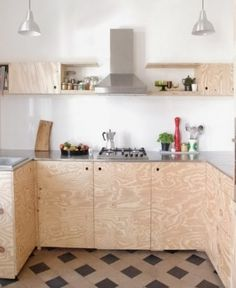 diy- Küche DIY kitchen, tags old building + plywood + DIY + award kitchen Plywood Interior, Plywood Furniture, Diy Furniture, Diy Kitchen Furniture, Plywood Walls, Furniture Design, Küchen Design, Home Design, Interior Design
