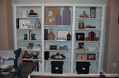 How to style a bookcase to be beautiful and functional!