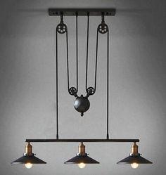 Lampes-suspension-industriel-noire-Edison-retro-loft-steampunk