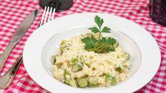 Risoto de aspargos para um jantar a dois - https://www.casalcozinha.com.br/receita/risoto-de-aspargos/