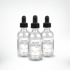 Silver Excelsior Serum Three-Pack - use in place of antibiotics-but research 1st, this is an ad